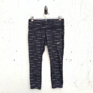 Nike Dri Fit Epic Run Printed Crop Pants